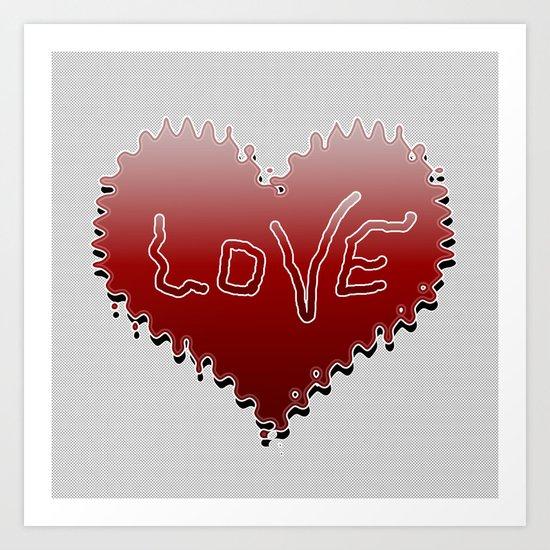 Heart 112 Art Print