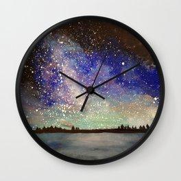 Star Shower Wall Clock