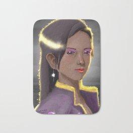 Imagined Lady Portrait Bath Mat