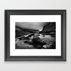 Capel Curig, Snowdonia, Wales. Framed Art Print