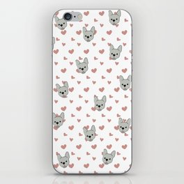 Frenchie Love iPhone Skin