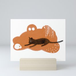 Cat's Dream Mini Art Print