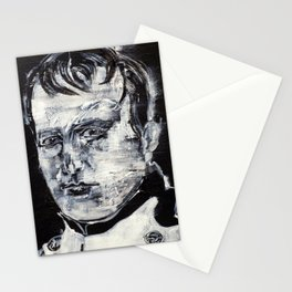 NAPOLEON acrilic portrait Stationery Cards