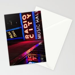 A Night in New York Stationery Cards
