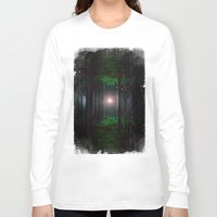 cabin pressure Long Sleeve T-shirts featuring Pressure BW by Protanopia