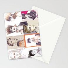 Fashion illustration composition Stationery Cards