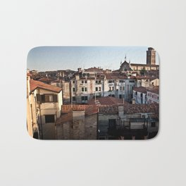 Venice at sunset Bath Mat