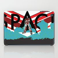 spaceman iPad Cases featuring Spaceman by Robert Cooper