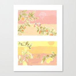 Sunrise Lovers Canvas Print