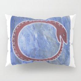 Red Ouroboros Pillow Sham