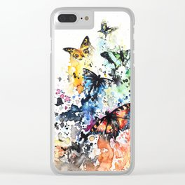 """""""Scattered"""" Clear iPhone Case"""