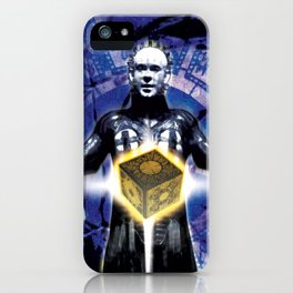 """Pinhead Hellraiser """"You Opened The Box"""" iPhone Case"""