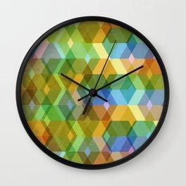 Romb-a-zoid Wall Clock