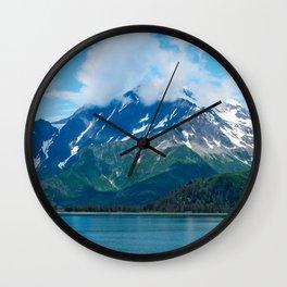 Desktop Wallpapers Alaska USA Kenai Fjords Nature  Wall Clock
