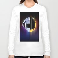 daft punk Long Sleeve T-shirts featuring Daft Punk by Alevan