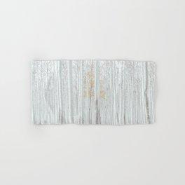 White tree forest Hand & Bath Towel