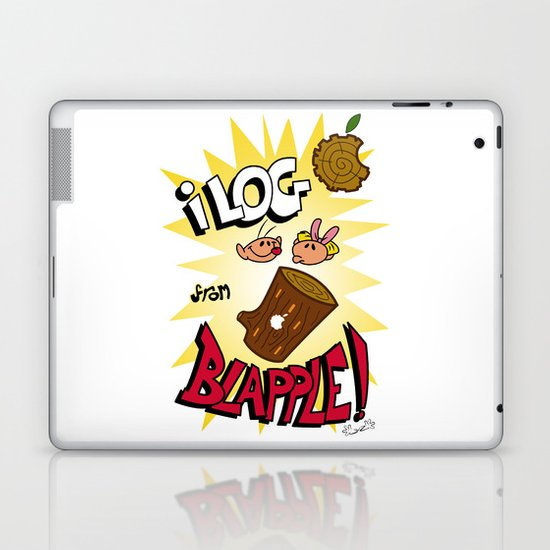 iLOG Laptop & iPad Skin