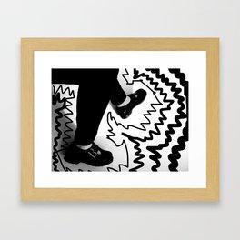 Surreal Step Framed Art Print
