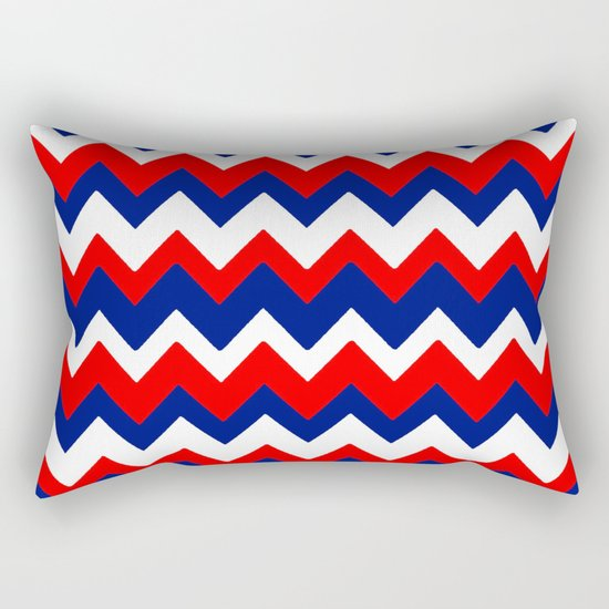 Red, White and Blue, 2016 Rectangular Pillow