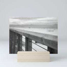 Hossegor seafront. Mini Art Print