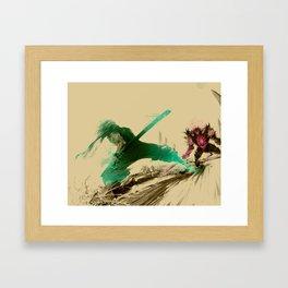 Ninja V Framed Art Print