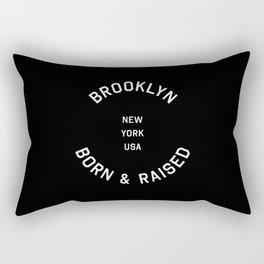 Brooklyn - NY, USA (Badge) Rectangular Pillow