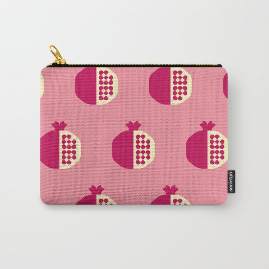Fruit: Pomegranate Carry-All Pouch