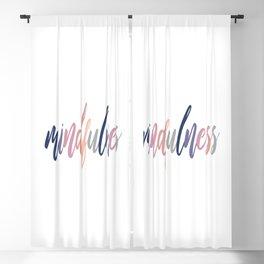 Mindfulness Blackout Curtain