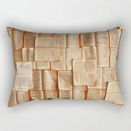 Vintage Novels (Color) Rectangular Pillow