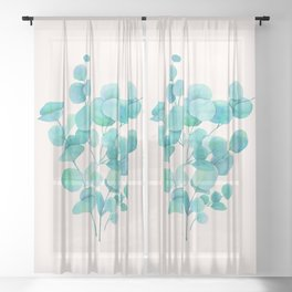 Eucalyptus Sheer Curtain