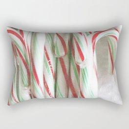 Candy Cane Stash Rectangular Pillow