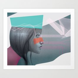The Reproach Art Print