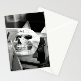 Skull mask, Old Curiosity Shoppe, Suisun City, CA  Stationery Cards