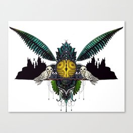 A wizards game Canvas Print