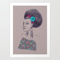 Africaine 2 Art Print