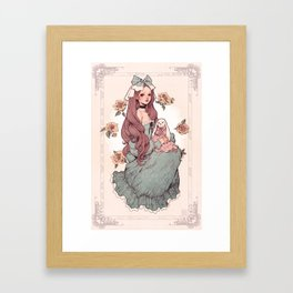 Lula Framed Art Print