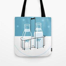 Milk Clock Tote Bag