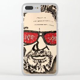 """""""The Dude Abides"""" featuring The Big Lebowski Clear iPhone Case"""