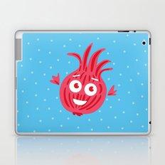 Cute Red Onion Laptop & iPad Skin