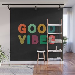 Good vibes Wall Mural