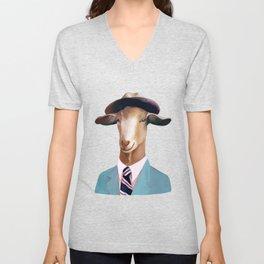 Goat Unisex V-Neck