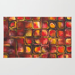 Red Blood Cells in Flow Rug