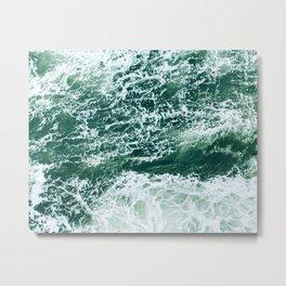 Emerald Sea Metal Print