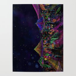 Magical Night Market Poster