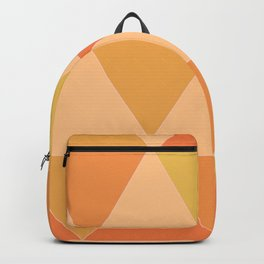 Retro Pattern / Vibrant Day Backpack