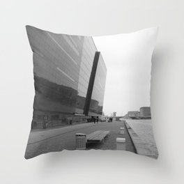 Copenhagen Black Diamond Throw Pillow