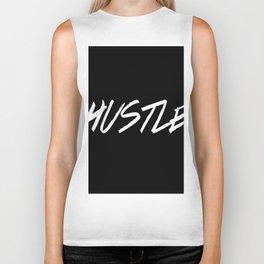 Hustle Typography Inspiration Biker Tank