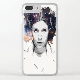 Celestial Leia Clear iPhone Case