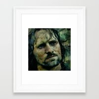 aragorn Framed Art Prints featuring Aragorn  by janice maclellan