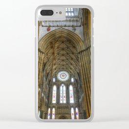 York Minster Clear iPhone Case